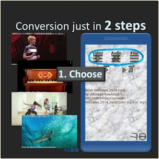 Batch MP3 Video Converter, many files with 1 click - náhled