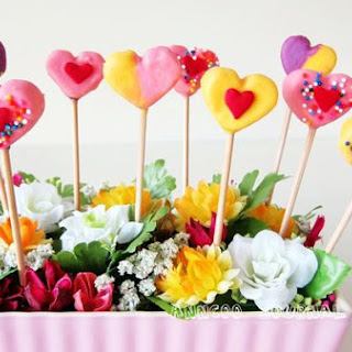 Marshmallow Pops For Mother's Day