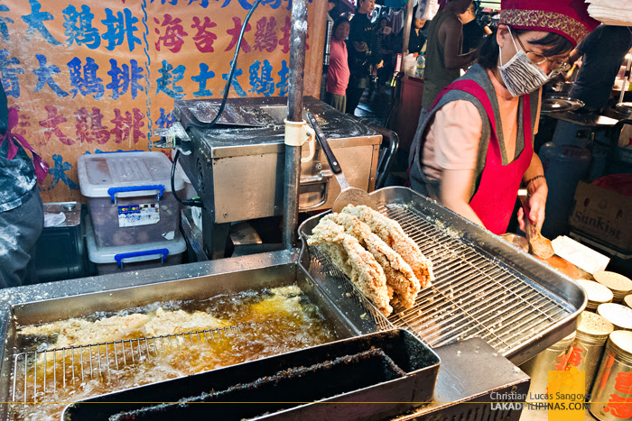 Raohe Night Market Large Chicken Chop