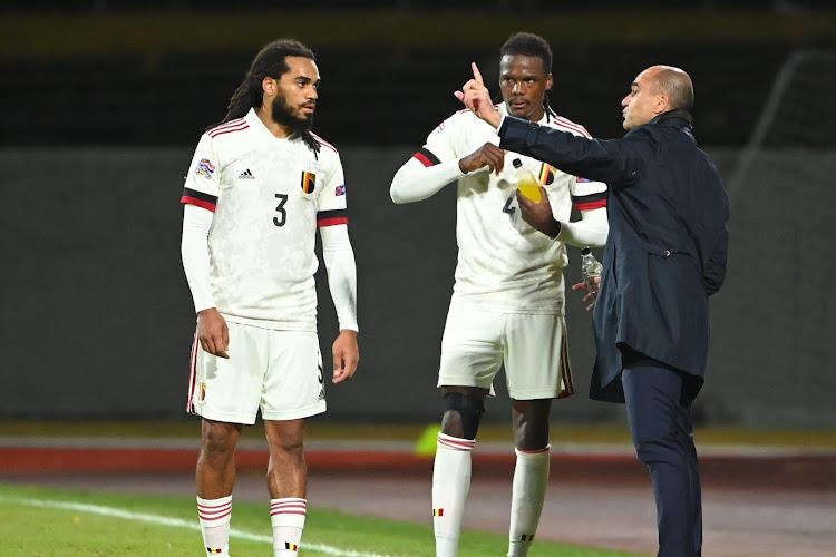"""Trainer Hertha Berlijn niet te spreken over beslissing Roberto Martinez: """"Zo'n dingen kunnen gebeuren als je een volledige helft moet spelen na een blessure van drie maanden"""""""