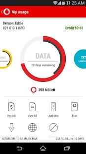 My Vodafone (NZ) - screenshot thumbnail