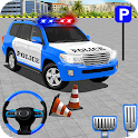 Police Jeep Spooky Stunt Parking 3D icon