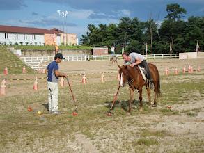 Photo: Montag - Training des koreanischen Polos