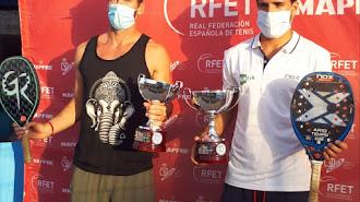 Los 'top ten' mundiales Antomi Ramos y Gerard Rodríguez Querol se alzaron con la victoria en la modalidad masculina.