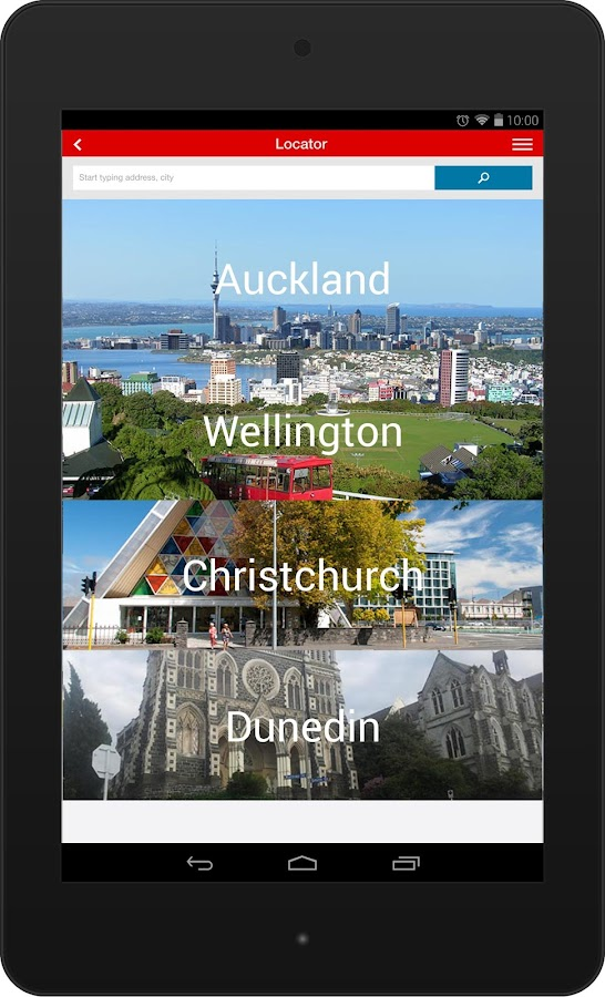 NZ Post- screenshot