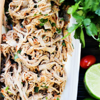 Slow Cooker Chili Lime Pulled Pork.