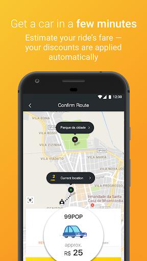 99 POP - Ridesharing 6.1.8 screenshots 2