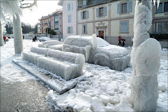 Photo: Ice Storm - Geneva Switzerland