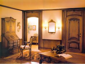 Photo: Innenausbauim Stil des Lüttich-Aachener Barock mit passenden Einzelmöbeln