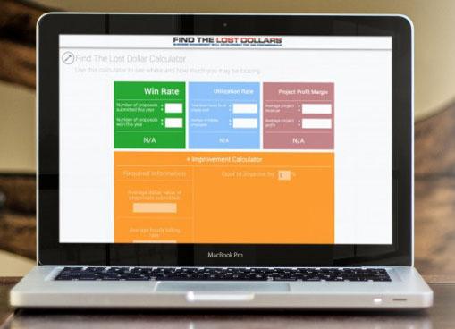 Laptop Displaying FTLD Online Business Management Training