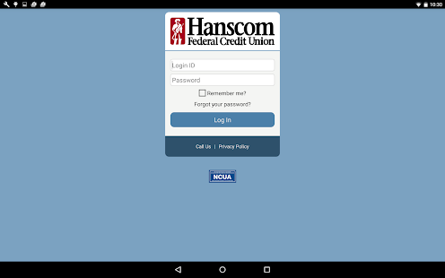 Hanscom FCU Mobile Access- screenshot thumbnail