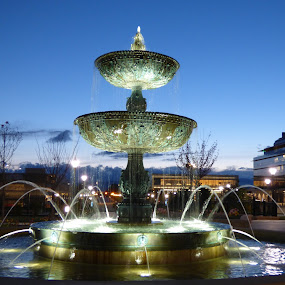 by Mike Martinez - City,  Street & Park  Fountains