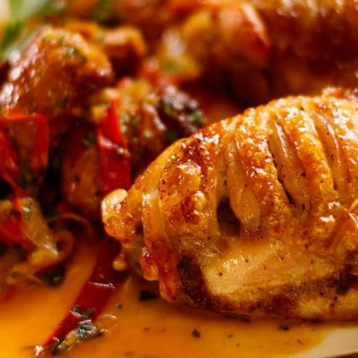 Chicken Scarpariello farm style