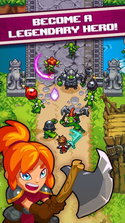Dash Quest Heroes  poster 0