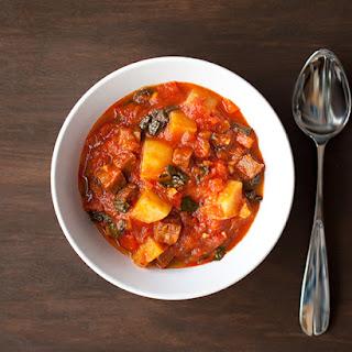 Chorizo Kale Stew
