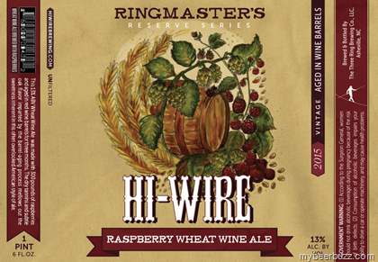 Logo of Hi-Wire Ringmaster's Reserve Raspberry Wheat Wine