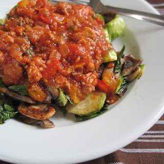 My Meat Sauce I Put On Everything.