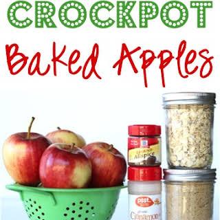 Crockpot Baked Apples.