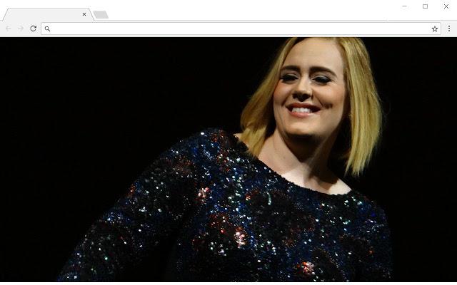 New Tab Adele Background