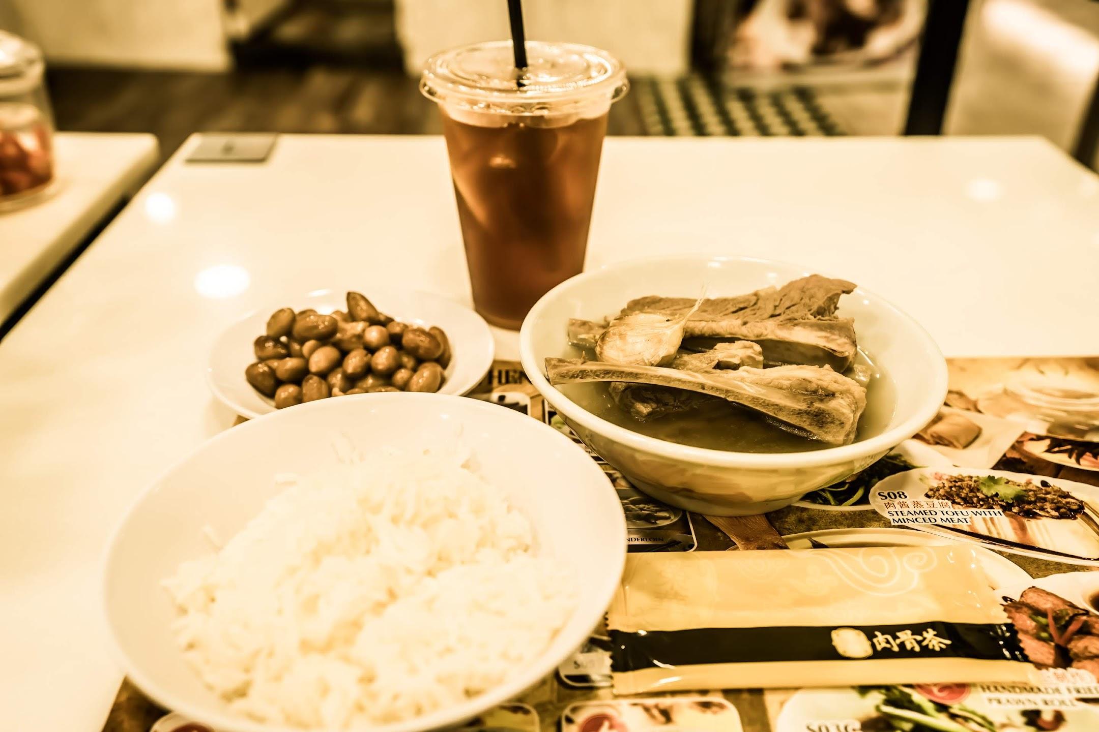 シンガポール バクテー(肉骨茶)