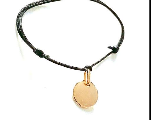 bracelet petite medaille