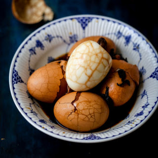 Chinese Tea Eggs (Marbled Eggs)