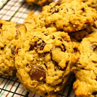 Dark Chocolate Cranberry Oatmeal Cookies