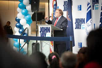 Photo: Nov 30, 2012 John Jay New Science Wing Ribbon Cutting Ceremony.In the Photo from Left to Right:Larry Kobilinsky J Jay College