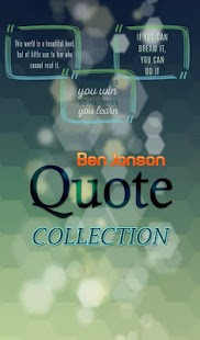 Ben Jonson Quotes Collection - náhled