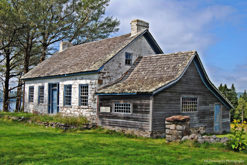A cottage on Ministers Island, off the coast of St. Andrew's, New Brunswick, Canada.