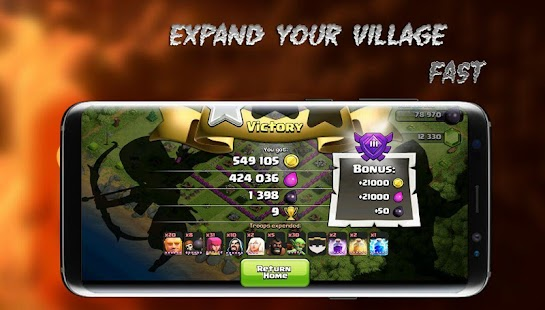 Loot Clash Of Clan Dead Bases - náhled