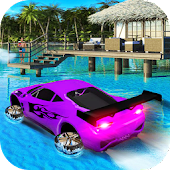 Water Surfer Car- Simulator Drive 18
