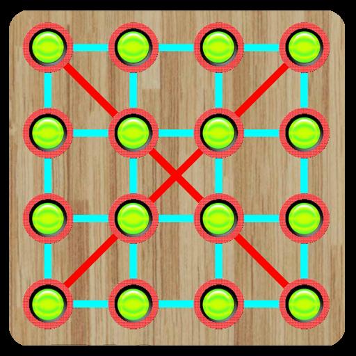 益智の接続のピンボール LOGO-記事Game