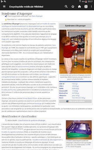 WikiMed - Wikipu00e9dia mu00e9dicale hors-ligne 2020-03 Screenshots 2