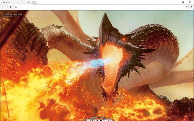 Dragon & Dragons New Tab Page