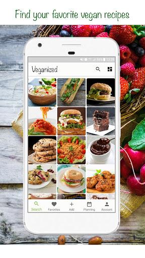 Veganized - Vegan Recipes  screenshots 1