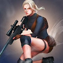 Sniper Girls - 3D Gun Shooting FPS Game icon