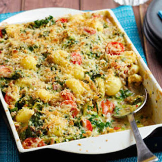 Pork & Curly Kale Gnocchi Bake