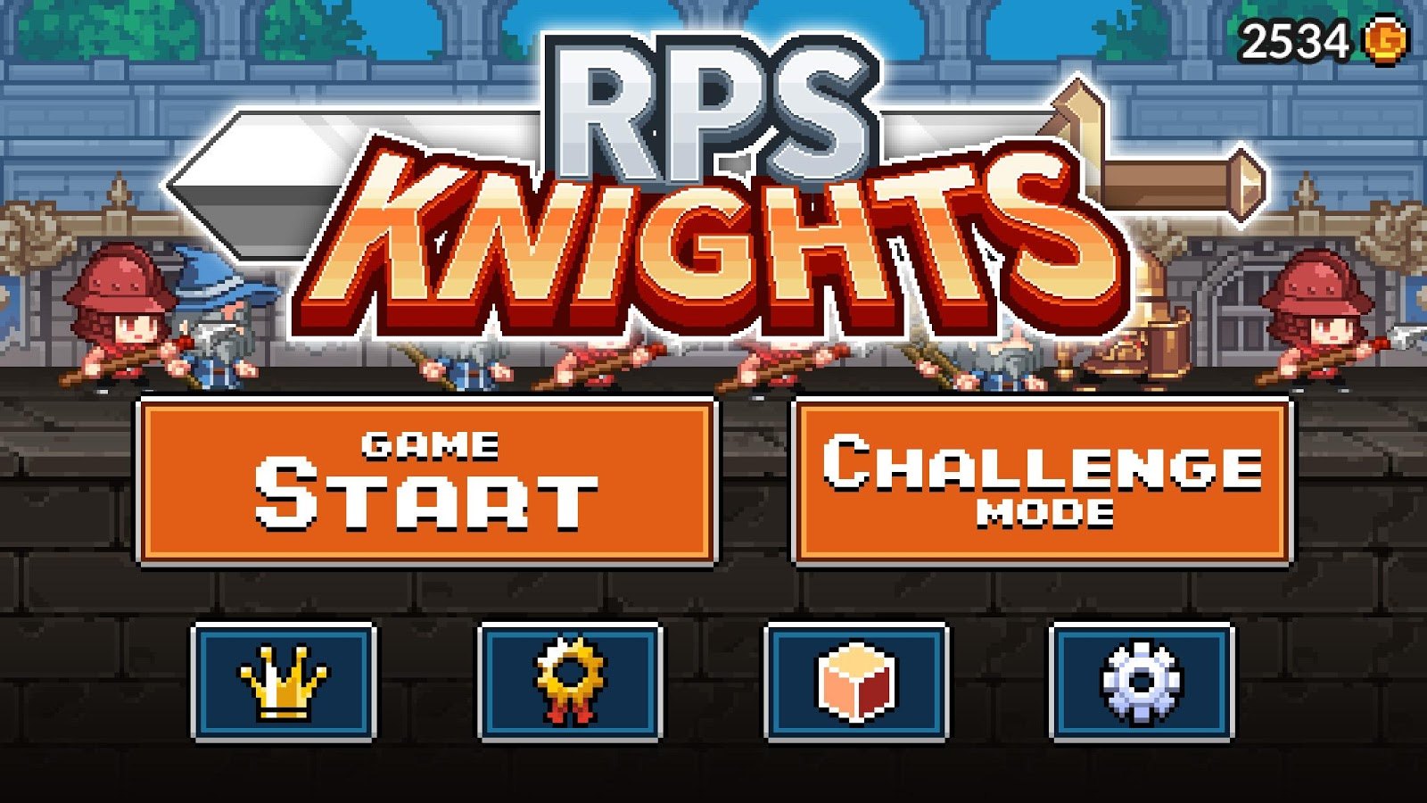 RPS Knights- screenshot