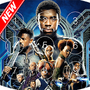 Black Panther T'Challa Lock Screen && HD wallpapers APK for Bluestacks