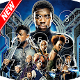 Black Panther T'Challa Look Screen & HD wallpapers apk