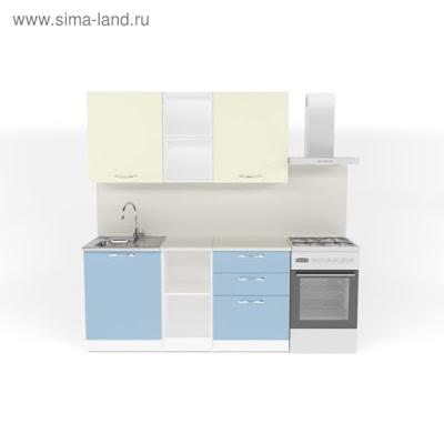 Кухонный гарнитур Алиса стандарт 5 1600 мм