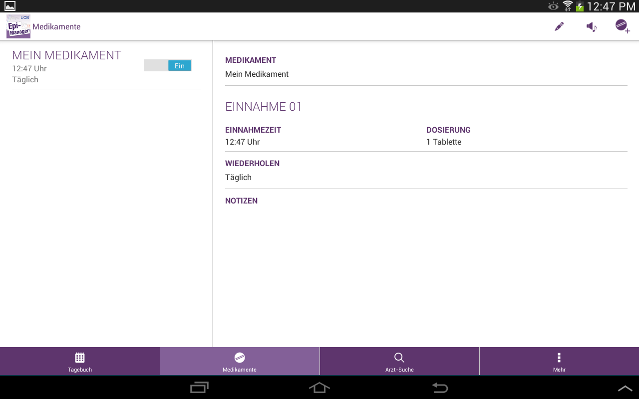 Epi-Manager- screenshot