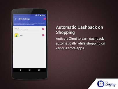 Zingoy - Cashback & Gift Cards- screenshot thumbnail