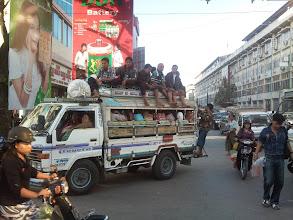 Photo: Jeden z mnoha typů dopravních prostředků snažící se, aby byl řádně obsazen.
