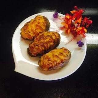 Pimento Cheese Stuffed Potatoes.