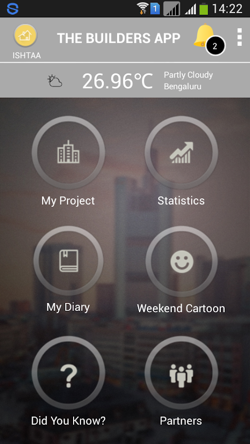 Ishtaa Builders App- screenshot