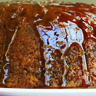 Steamed Syrup Pudding.