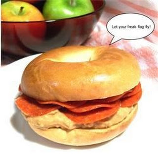 Odd Bagel Sandwiches