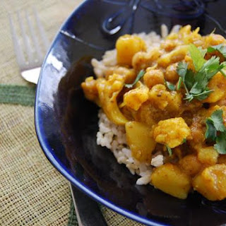 Channa-Chickpea, Potato & Cauliflower Curry